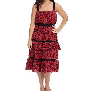 Anthropologie Adelyn Rae Garden Isabel Dress